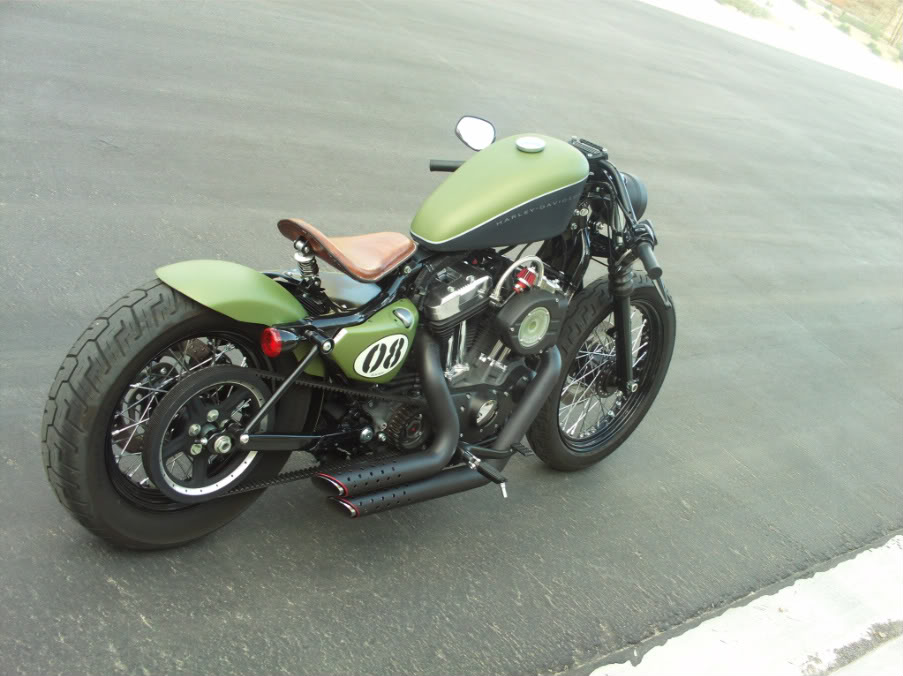 Gallery For > Harley Sportster 48 Bobber