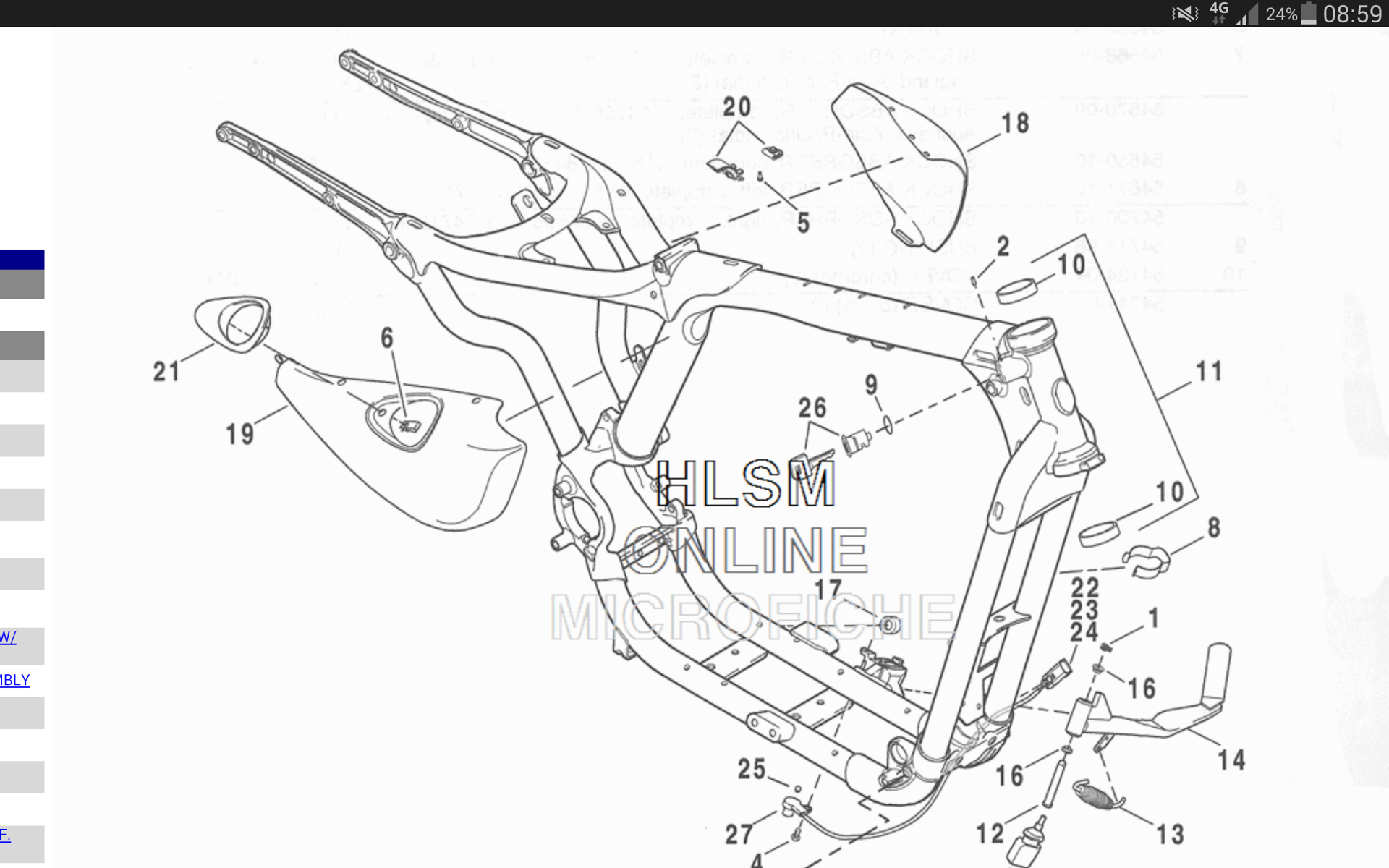 94 Sportster Wiring Diagram furthermore Harley Davidson Fairing Diagram as well 1154244 1984 Softail Basketcase additionally Harley Sportster Full Diagram additionally Volvo Ec25 Wiring Diagram. on 2013 harley davidson 883 sportster
