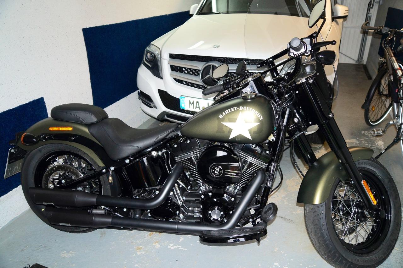 Harley Softail Slim >> FLS/S Slim: Softail Slim S (S. 92) - Milwaukee V-Twin ...