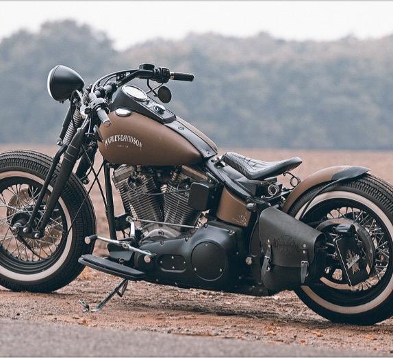 Harley Davidson Super Glide Bobber